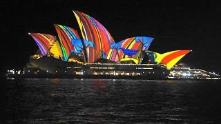 Download Vivid Light Festival Sydney 2016 - Songlines - Light Projections on The Sails of Sydney Opera House Video