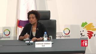 Download Michaëlle Jean : ″On ne remplace pas Abdou Diouf, on lui succède!″ - #OIF Video