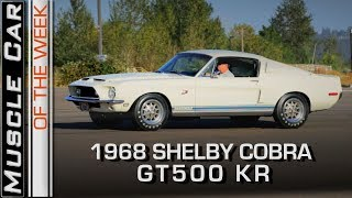 Download 1968 Shelby GT500KR 428 Cobra Jet Review: Muscle Car Of The Week Video Episode 249 V8TV Video