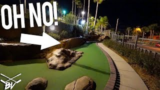 Download MINI GOLF SHOT GOES WRONG + CRAZY MINI GOLF HOLE IN ONE! Video