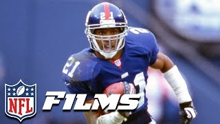 Download #3 Tiki Barber | NFL Films | Top 10 Players Not in the Hall of Fame Video