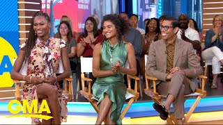 Download The stars of 'Pose' show us how to 'sell the face' l GMA Video