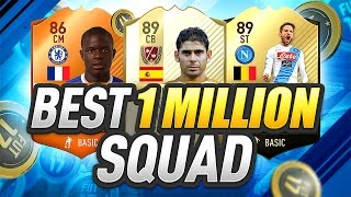 Download THE BEST 1 MILLION COIN TEAM ON FIFA 17!!! Video