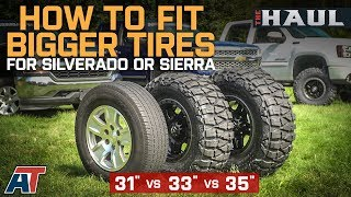 Download How To Fit Larger Tires on Your Chevy Silverado or GMC Sierra Video