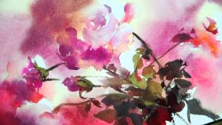 Download Watercolor-Rhythm of flowers no.1 by Phatcharaphan Chanthep Video