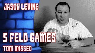 Download 5 Feld Games Tom Forgot with Jason Levine Video