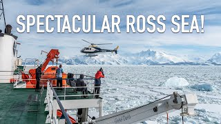 Download Spectacular Ross Sea Video