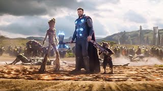 Download Avengers Infinity War Thor's New Weapon Scene Explained and Phase 4 Confirmed Video