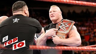 Download Top 10 Raw moments: WWE Top 10, July 10, 2017 Video