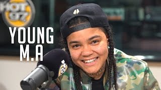 Download Young M.A Speaks on Recent Issues, Rise To Stardom & More With Funk Flex Video