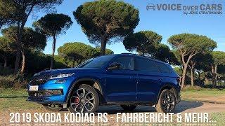 Download 2019 Skoda Kodiaq RS Fahrbericht Test Review Meinung Kritik (5-Sitzer) Kofferraum Motor Sound Video