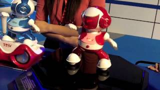 Download TOSY Disco Robo and Disco Robot Super Star Dancing Fun at CES2013 Video