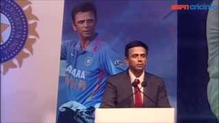 Download Rahul Dravid felicitation speech | ESPNcricinfo Video