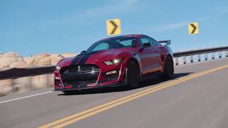Download 2020 Ford Mustang Shelby GT500 video debut Video