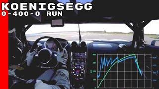 Download On-Board Koenigsegg Agera RS 0-400-0 Run Video
