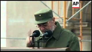 Download Fidel Castro gives longest speech of his public comeback Video