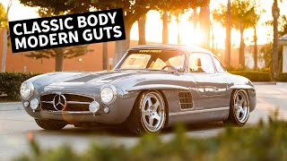Download Cloning a $1M Car? Mercedes 300SL With a Modern Engine/Chassis Video