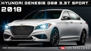Download 2018 Hyundai Genesis G80 3.3T Sport Review Rendered Price Specs Release Date Video