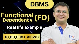 Download Part 3.1 Functional Dependency in DBMS in HINDI | DATE BASE MANAGEMENT SYSTEM Video
