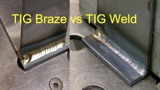 Download Tig Brazing vs Tig Welding Video