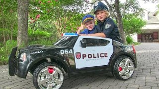 Download Ride On Police Car for Kids - Unboxing, Review and Riding Dodge Charger Video