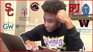 Download COLLEGE DECISION REACTIONS 2018 (USC, BROWN, GWU and MORE) Video