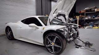 Download I Bought a WRECKED Ferrari 458 from auction & I'm going to Rebuild it! Video