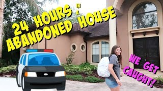 Download 24 HOURS OVERNIGHT CHALLENGE IN AN ABANDONED HOUSE || Taylor and Vanessa Video