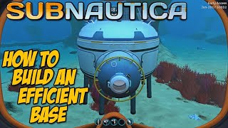 Download HOW TO BUILD AN EFFICIENT BASE - Subnautica Tips & Tricks Video
