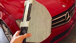 Download 📕How to Install a Cabin Air Filter on a 2014 Mercedes C250 Sports Sedan Quick HD Review Video