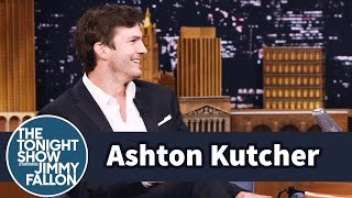Download Ashton Kutcher Talks About Making Humans with Mila Kunis Video
