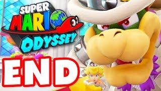 Download Super Mario Odyssey - Gameplay Walkthrough Part 11 - Bowser Wedding Boss Ending! (Nintendo Switch) Video