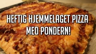 Download Heftig hjemmelaget pizza med P0ndern! Video