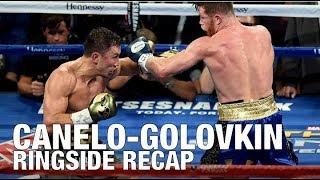 Download Gennady GGG Golovkin vs Saul CANELO Alvarez DRAW! Ringside Recap Video