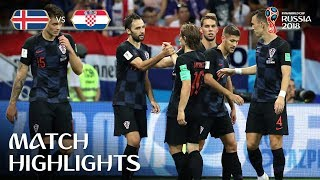 Download Iceland v Croatia - 2018 FIFA World Cup Russia™ - Match 40 Video