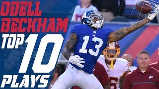 Download Odell Beckham Jr.'s Top 10 Plays of the 2016 Season | New York Giants | NFL Highlights Video