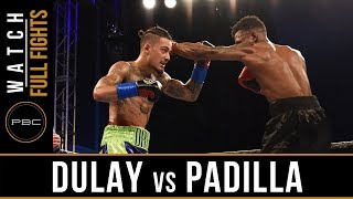 Download Dulay vs Padilla FULL FIGHT: August 25, 2017 - PBC on FS1 Video