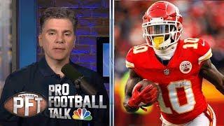 Download PFT Overtime: Chiefs' Tyreek Hill avoids suspension | Pro Football Talk | NBC Sports Video