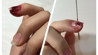 Download 看起來很痛的特效化妝~天呀!我的指甲破裂了!! FX Make-up Tutorial |Nail breakage in two ways Video