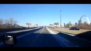 Download BigRigTravels LIVE! East St. Louis, Illinois to Tulsa, Oklahoma Interstate 44 West-Jan. 6, 2018 Video