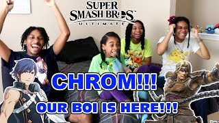 Download CHROM!? THIS IS INSANE!!! Super Smash Bros. Ultimate 8/8/18 Direct Reaction! Video