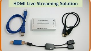 Download Using a DSLR Camera Live Streaming to YouTube / FaceBook / USTREAM /WOWZA Video