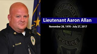 Download Emotional 10-42 ″End of Watch″ call for Southport Lt. Aaron Allan Video