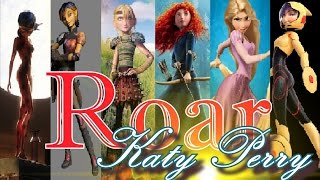 Download Roar - Multifandom Girls - Non/Disney [amv] Video