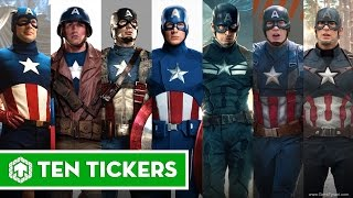 Download Captain America Through Years 1944, 1979, 1990, 2011, 2012, 2014, 2015, 2016 Video