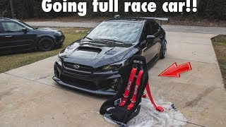 Download 2015 WRX - INSTALLING SPARCO RACING SEATS, SPARCO HARNESS, HARNESS BAR Video