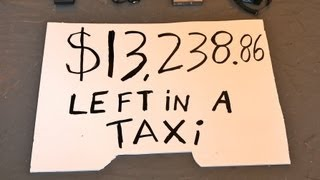 Download $13,238.86 left in a NYC taxi Video