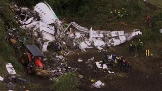 Download Colombian Plane-Crash Audio: 'Out of Fuel' Video