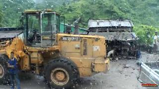 Download Nepal,Pokhara to Lumbini by bus-Landslide incident,dangerous road-Trip to Nepal,Tibet,India part 20 Video