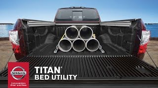 Download 2017 Nissan TITAN | Truck Bed Features, Size & Payload Video